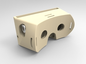 3D Printed Virtual Reality Headset