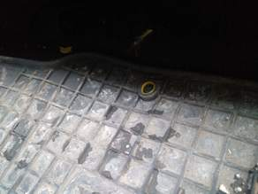 Hyundai Santa Fe rubber carpet locker