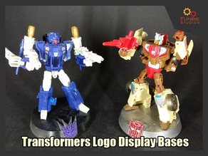 Transformers Display Bases - Autobot & Decepticon