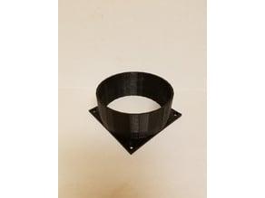 Antminer Fan Shroud 5 Inch Exhaust
