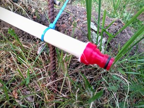 PVC watering system