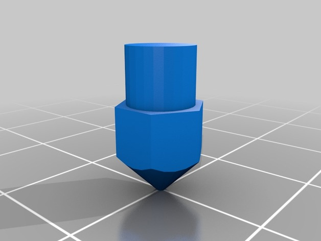 Mk8 Nozzle Dummy Model by pyr0ball - Thingiverse