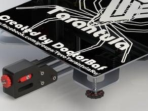 Adjustment knob with scale for M3 Tevo Tarantula