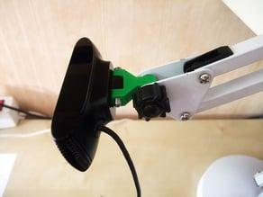 C910 webcam mini-mounts