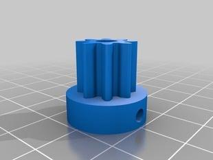 Extruder motor gear for Ultimaker