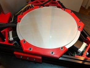 Kossel 300 Heatbed/glass bed holder