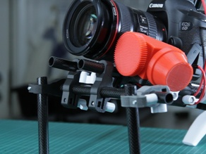 DSLR Camera system - 15/14mm - Shoulder rig config