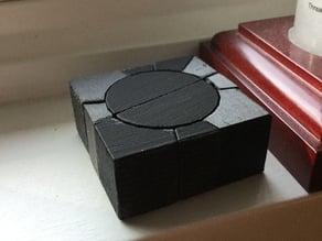 square 1 sliver cube twisty puzzle