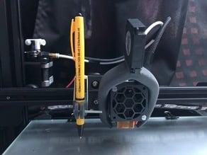 CR10-S stable pen holder (easy print)