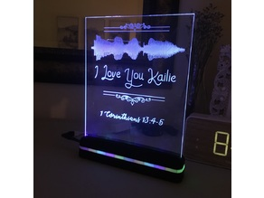 Ender 3 Engraving and Acrylic Light Sign