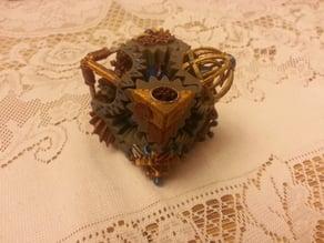 Steampunk cube gears