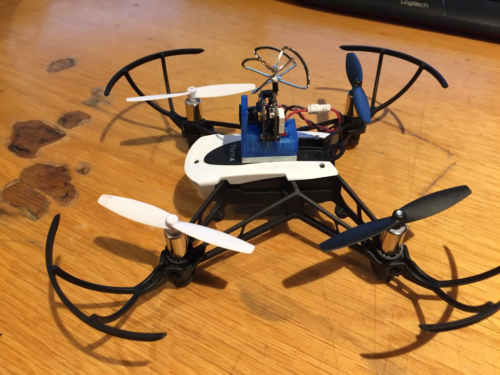 Eachine TX02 Camera mount Parrot mambo FPV by Gnukke - Thingiverse