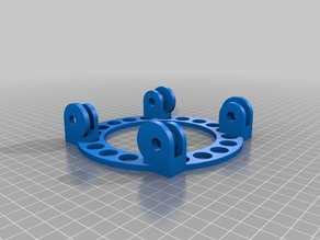 ROLLER RING | Parametric Filament Spool Holder