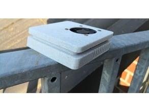 PiStation 4 Slim Fan Raspberry Case