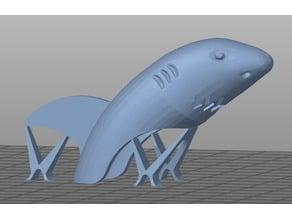 Finger shark, one block