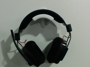 Wall-Mounted Headphone/Headset Holder
