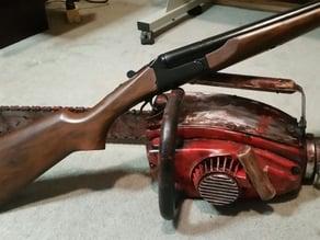 BOOMSTICK! Stoeger Coach Gun - Double barrel side by side 12 gauge.