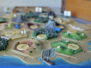 Catan Seaside Pieces with Ports