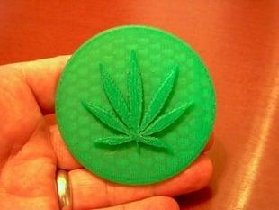 Medical Marijuana Cookie Stamp
