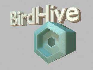 The BirdHive Birdhouse