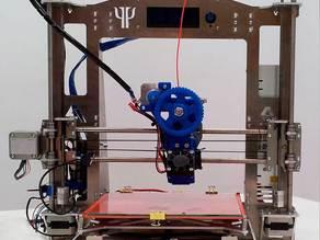 Prusa i3 Steel PSIQUE Aluminium and Steel printed parts - Createc 3D