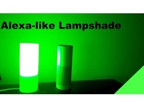 Amazon-Alexa like Lampshade