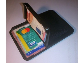 Credit card and identity card wallet