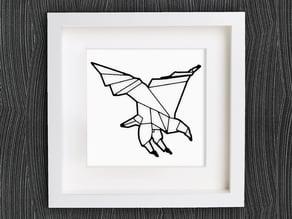 Customizable Origami Eagle