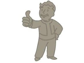 fallout boy (badge)