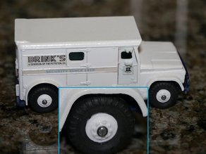 Dinky #275 Brinks Armoured Car Replacement Wheel