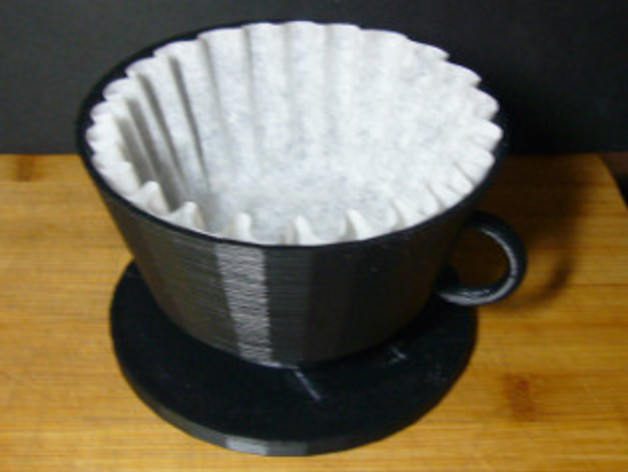 Espresso Filter Holder ~ Coffee filter holder by terminus thingiverse