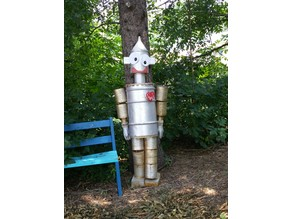 Barrel Tin Man Eye