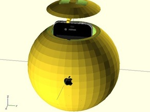 iBall - An excercise ball for your iPhone