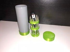 Screwdriver container