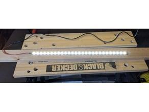 Strip LED Holder v2