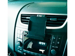 SmartPhone Car Holder - CD mount (more easy printable)