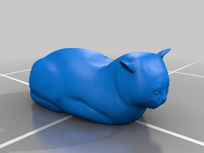 Molly (cat) sculpture