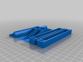 My Customized Parametric tabletop spool holder