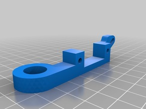 MK9 Extruder Z-Axis Induction Sensor and Fan Bracket