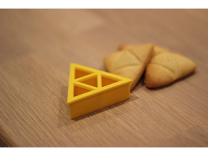 Zelda Triforce Cookie Cutter
