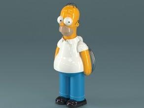 Homer Simpson - Keychain