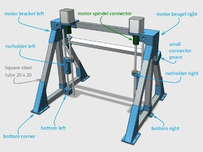 Z axis for CNC mini mill