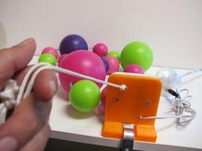 Pulsador de cuerda/Button rope