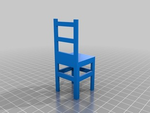 Assembled Design Chair
