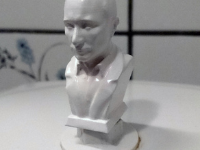 Toilet flush grips for Ifö Aqua (1984-1991) heart or V. Putin (Pootin hehe)