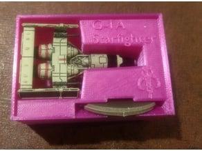G-1A Starfighter (Mist Hunter) Holder (X-Wing Miniatures) for Stanley organizer