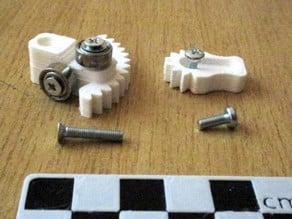 Mini-Kossel top Spoolholder
