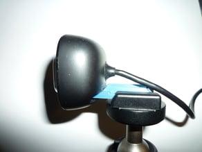 LifeCam HD 3000 to Cold shoe Adaptor Stativ Webcam