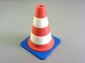 Tri-Colour Traffic Cone