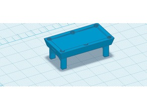 28mm Pool Table